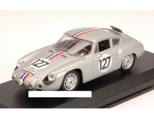 Best Model BT9580 PORSCHE ABARTH N.127 TOUR DE FRANCE 1961 BOUCHET-AURY 1:43 Modellino