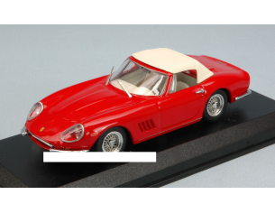 Best Model BT9579 FERRARI 275 GTB SPYDER N.A.R.T. 1967 RED 1:43 Modellino