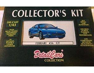 DetailCars collection 8017 Ferrari 456 GT 1992 1/43 KIT Modellino Scatola rovinata