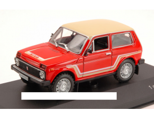 White Box WB075 LADA NIVA CALIFORNIA 1981 RED/BEIGE 1:43 Modellino