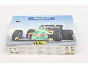 Heller HL79803 Benetton F1 Kit Auto 1/43 Modellino Scatola rovinata