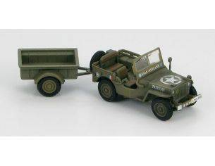 Hobby Master HG4211 JEEP WILLYS US 2E DIVISION 1/72 Modellino