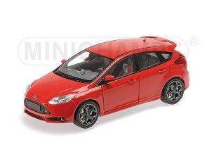 MINICHAMPS 110082002 FORD FOCUS ST 2011 RED Modellino