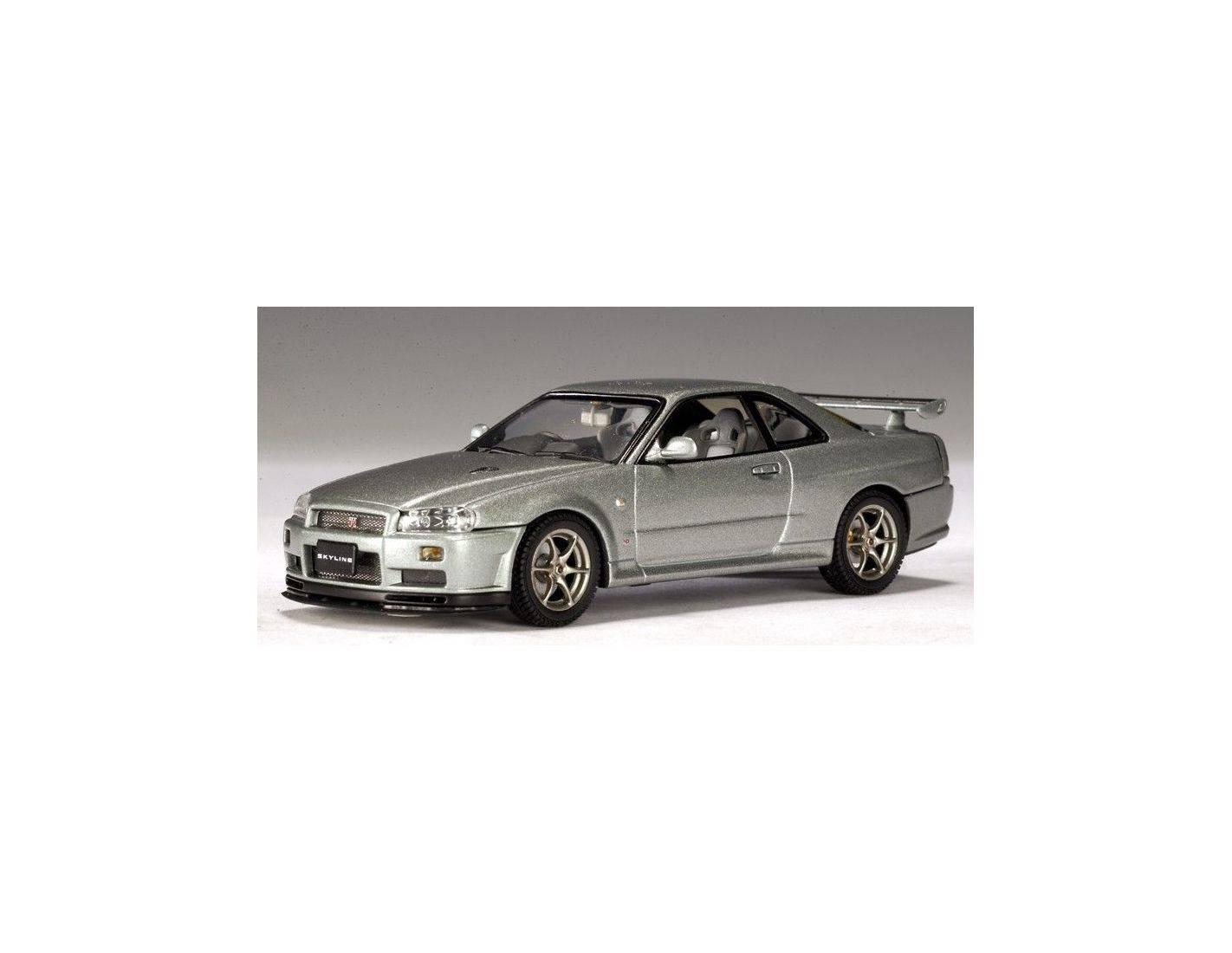 400 Auto Art Gateway 57332 Nissan Skyline R34 Gtr V Spec 143 Modellino