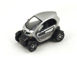 Spark Model S4500 RENAULT TWIZY (ELECTRIC CAR) PARIS 2010 SILVER 1:43 Modellino