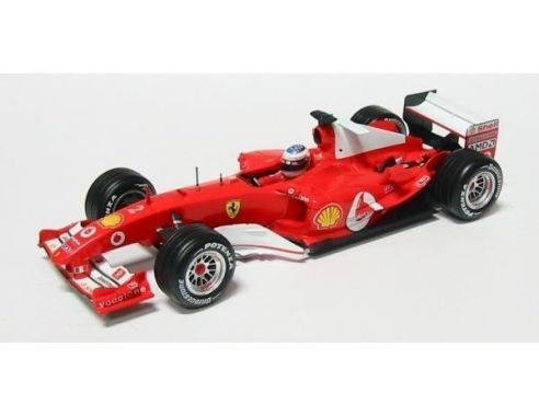 Hot Wheels HW04464 FERRARI 2004 R.BARRICHELLO 1:18 Modellino