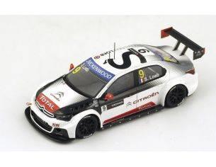 Spark Model S4521 CITROEN C-ELYSEE N.9 WINNER R2 RACE OF ARGENTINA 2015 S.LOEB 1:43 Modellino