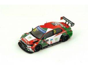 Spark Model S4522 CITROEN C-ELYSEE N.25 4th WTCC RACE OF MAROCCO 2015 M.BENNANI 1:43 Modellino