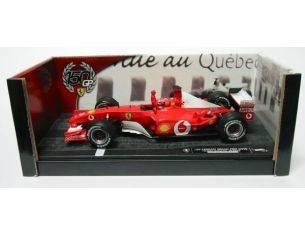 Hot Wheels HW54646 FERRARI F 2002 M.SCHUMACHER '02 1:18 Modellino