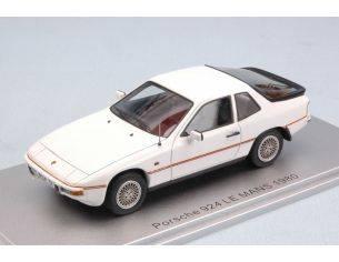 Kess Model KS43024002 PORSCHE 924 LE MANS 1980 WHITE ED.LIM.PCS 225 1:43 Modellino