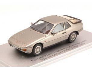 Kess Model KS43024000 PORSCHE 924 JUBILEUM 1980 SILVER ED.LIM.PCS 225 1:43 Modellino