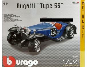 Bburago BU25035 BUGATTI TYPE 55 N.120 1932 KIT 1:24 Modellino