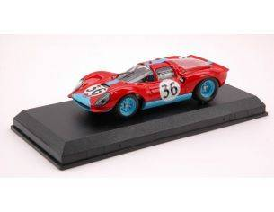 Art Model AM0207 FERRARI DINO 206 N.36 46th LM 1966 SALMON-HOBBS 1:43 Modellino