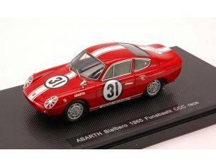 Ebbro EB44464 ABARTH BIALBERO 1965 N.31 FUNABASHI CCC RACE 1:43 Modellino