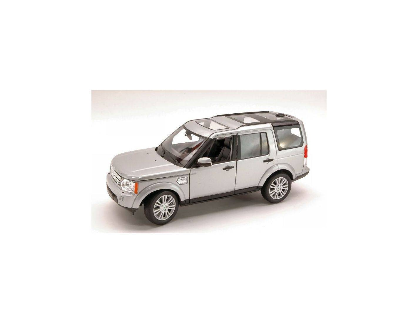 Welly we3797 land rover discovery 4 2010 silver 1 24 modellino for Discovery 24 shop