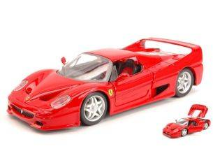 BBURAGO BU26010R FERRARI F50 1995 RED 1:24 Modellino
