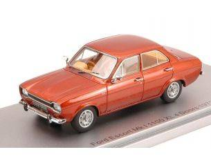 Kess Model KS43015011 FORD ESCORT MKI 1100 XL 4 DOORS 1973 BRONZE ED.LIM.PCS 250 1:43 Modellino