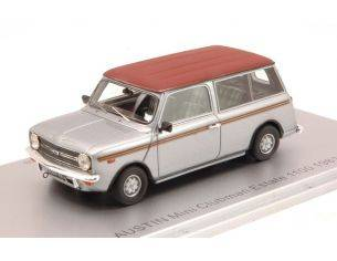 Kess Model KS43025001 MINI CLUBMAN ESTATE 1100 1981 SILVER/BROWN ED.LIM.PCS 225 1:43 Modellino