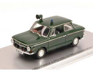 Kess Model KS43023001 NSU PRINZ 4 POLIZEI STREIFENWAGEN 1964 ED.LIM.PCS 156 1:43 Modellino
