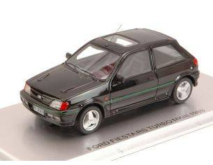 Kess Model KS43015021 FORD FIESTA RS TURBO MKIII 1989 BLACK ED.LIM.PCS 204 1:43 Modellino