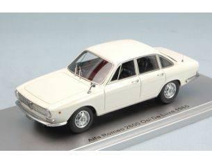Kess Model KS43000250 ALFA ROMEO 2600 OSI DE LUXE 1965 WHITE ED.LIM.PCS 250 1:43 Modellino