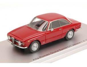 Kess Model KS43000240 ALFA ROMEO GIULIA SPRINT GT VELOCE 1.6 1966 RED ED.LIM.PCS 250 1:43 Modellino