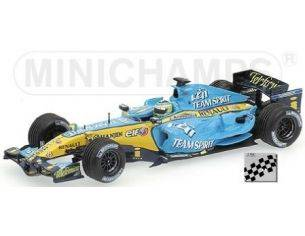MINICHAMPS 433060002 RENAULT R26 G. FISICHELLA 2006 Modellino