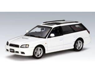 Auto Art / Gateway 58622 SUBARU LEGACY GTB '99 WHITE 1/43 Modellino
