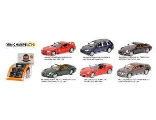 MINICHAMPS 640000002 DISPLAY CON 36 AUTO STRADALI SCALA 1/64 Modellino