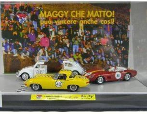 Club Bialbero MAGGY/351 SET MAGGY'1/43 CHE MATTO PUO'VINCERE Modellino