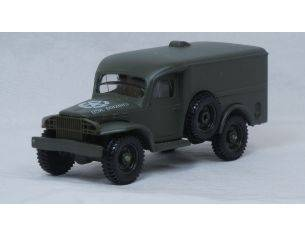 Solido 4494/12 DODGE 4X4 WC USA ARMY TRUCK 1/43 Modellino