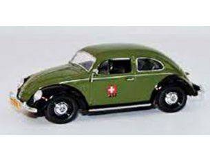 Schuco 3364 VW KAFER 'PTT' GREEN 1/43 Modellino