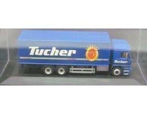 Schuco 3406507 MERCEDES BENZ ACTROS LKW TUCHER 1/72 Modellino