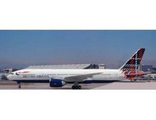 Schuco 3557466 BOEING 777-200 BRITISH AIR. SCOTLAND Modellino