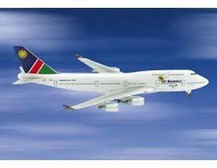 Schuco 3557623 BOEING 747-400 AIR NAMIBIA 1/500 Modellino