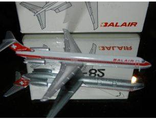 Schabak 904/055 DOUGLAS DC9 BALAIR SCHWEIZ 1/600 Modellino