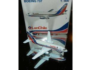 Schabak 905/095 BOEING 737 LAN CHILE 1/600 Modellino