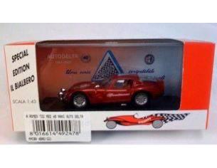 Club Bialbero 40AD/321 ALFA ROMEO TZ2 RED 40'ANNI AUTO DELT Modellino
