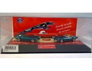 Club Bialbero JE/317B SET JAGUAR'E' HARDTOP RED+SPIDER Modellino