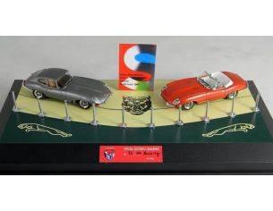 Club Bialbero JEPG/211 JAGUAR E SILVER + JAGUAR E RED 1961 Modellino