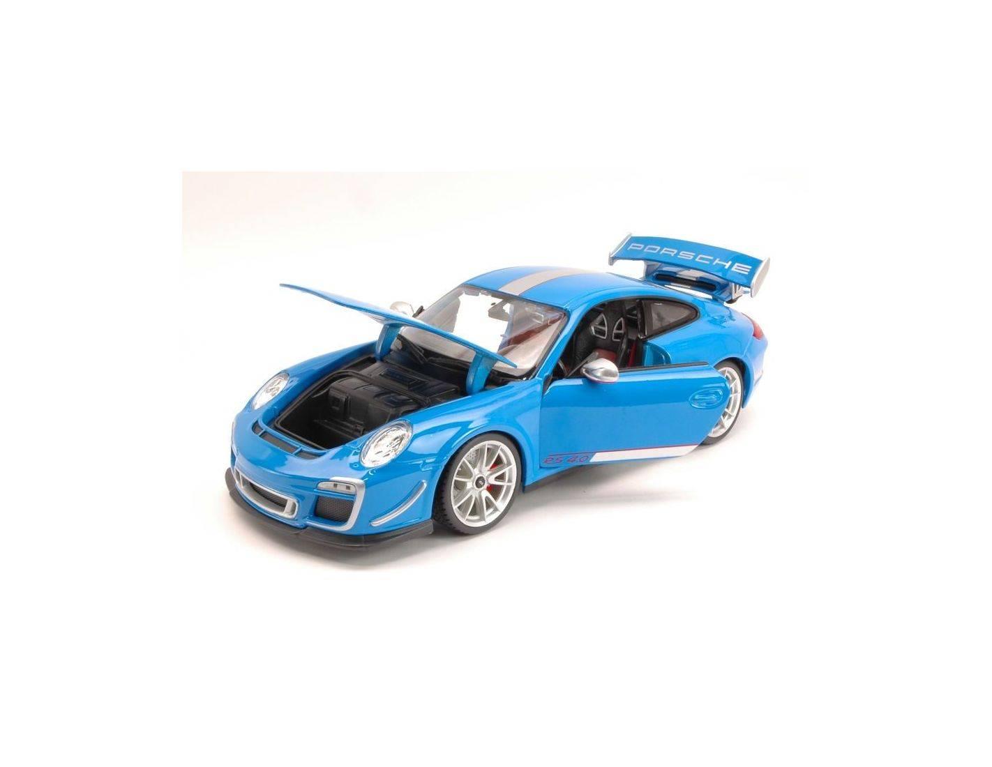 auto 1 18 bburago bu11036bl porsche 911 gt3 rs 4 0 2012 blue 1 18 modellino modellino shop. Black Bedroom Furniture Sets. Home Design Ideas