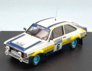 Trofeu TF1012 FORD ESCORT RS 1800 MK II N.6 4th RAC RALLY 1979 VATANEN-RICHARDS 1:43 Modellino