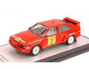 Trofeu TFGRB01 AUDI QUATTRO A2 N.8 4th RALLY DE TIERRA 1988 C.ALDECOA-M.INUNCIAGA 1:43 Modellino