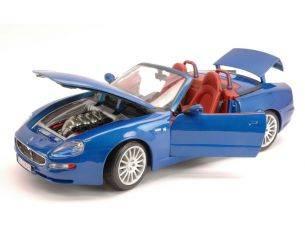 Bburago BU12019BL MASERATI 3200 GT SPYDER 2004 BLUE 1:18 Modellino