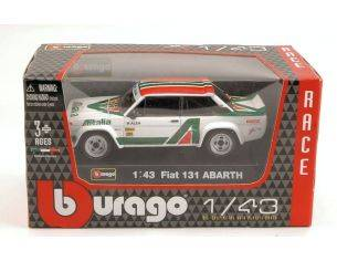 BBURAGO BU38017 FIAT 131 ABARTH ALITALIA 1:43 Modellino