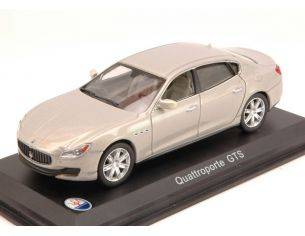 White Box WBS039 MASERATI QUATTROPORTE GTS 2013 METALLIC LIGHT GREY 1:43 Modellino