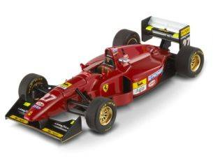 Hot Wheels T6284 FERRARI 412 T 1 JEAN ALESI 1994 GREAT BRITAIN GP 1:43 Modellino