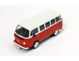 PremiumX PRD344 VW T2 KOMBI 1976 RED & WHITE 1:43 Modellino