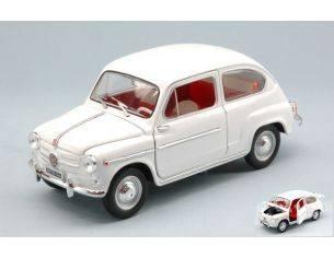 Nostalgie NT001 FIAT 600 D 1960 WHITE 1:24 Modellino