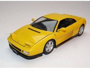 Hot Wheels HWV7437 FERRARI 348 TB 1989 YELLOW 1:18 Modellino